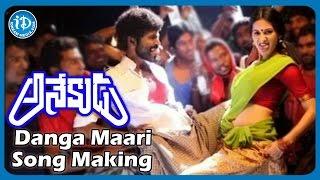 Dhanush's Anekudu Movie   Danga Maari (Bandlaguda Rowdyki) Song Making