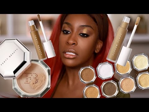 Has FENTY Done It Again Pro Filt r Concealer & Setting Powder Review Jackie Aina