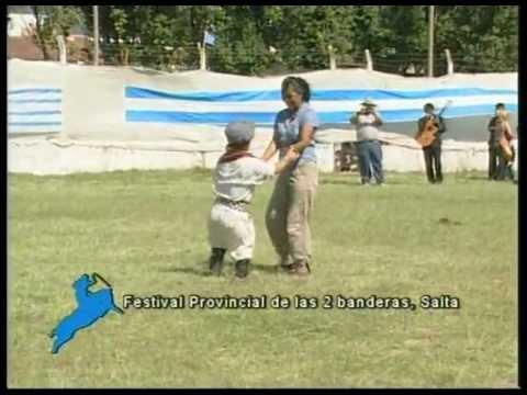 Monta especial del Enano Pepo vs El malambo Festival Provincial de las 2 banderas Salta 12 12
