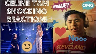 Celine Tam Helene Fischer Show 2017 You Raise Me Up REACTION!!! (FUNNIEST REACTION EVER!?!?)