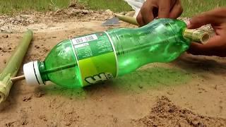 Primitive Technology: Simple DIY Bird Trap Make from  IZE bottle That Work 100% By Smart Boy