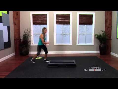 Step aerobics advanced class with Ashli 60 Minutes