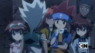 Beyblade Metal Fury Episode 22 - The Four Season Bladers (English Dubbed FULL)
