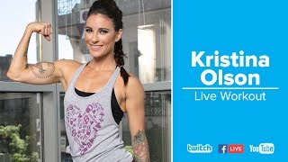 Chest & Triceps Live Workout | Kristina Olson