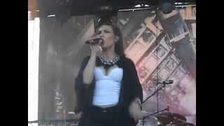 Amaranthe - Razorblade (LIVE, 17.8.2014, Made of Metal)