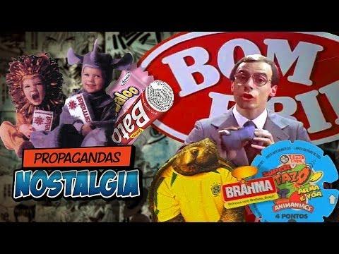 Propagandas Antigas Nostalgia