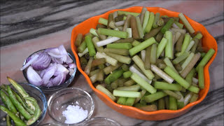 Shapla recipe - Water lily
