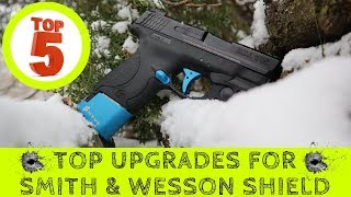 TOP 5 Best M&P Shield Upgrades ► Smith & Wesson Shield Performance Upgrades