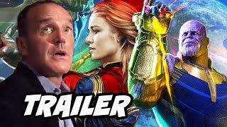 Agents Of SHIELD Season 5 Trailer - Avengers Infinity War Captain Marvel Easter Eggs