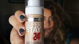 Maybelline Super Stay 24h Fondöten : Ürün İncelemesi