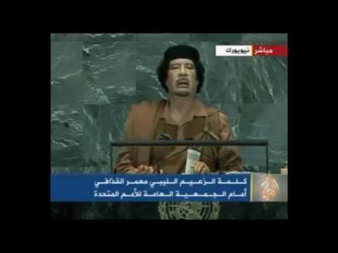 Xxx Mp4 لقطات من كلمة معمر القذافي أمام الجمعية العامة للأمم المتحدة عام ٢٠٠٩ 3gp Sex