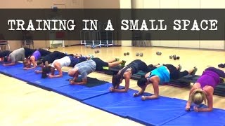 Group Training Ideas - In a Small Space