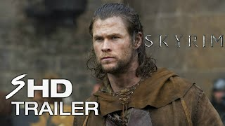 Skyrim (2018) - Movie Trailer #1 Chris Hemsworth, Sam Worthington (Fan Made)