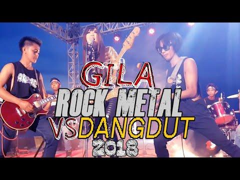 SADIS!!Begini jadinya Rock VS Dangdut dijadiin satu