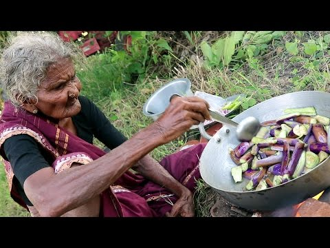 My 105 years Grandma s Yummy Brinjal Curry World Best Brinjal Recipe Country Foods
