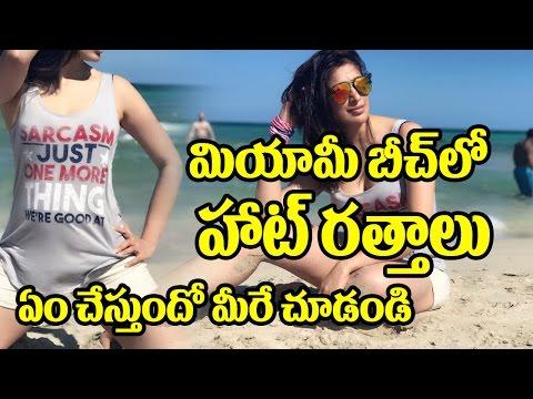 Xxx Mp4 Actress Lakshmi Rai Hot In Miami Beach Khaidi No 150 Ratthaalu Song Chiranjeevi Top Telugu TV 3gp Sex