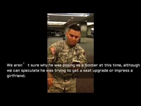 Special Forces Soldier Calls Out Fake SF At T.F Green Airport, Stolen Valor