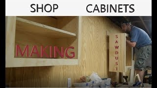 How to build a shop wall cabinet