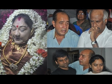 Actress | Manjula Vijayakumar | Last Journey | Photos