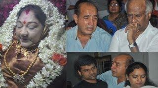 Actress | Manjula Vijayakumar | Last Journey | Photos