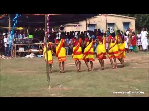 santhali ( santali ) dance performance @ song - ul bili hormo taam