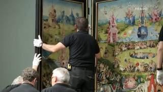 Nueva instalación de pintura flamenca de los siglos XV y XVI