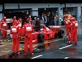 MICHAEL SCHUMACHER VS MIKA HAKKINEN THE HISTORIC SILVERSTONE GP (PIT WIN)