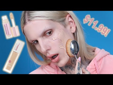 MAYBELLINE 24HR SUPERSTAY FOUNDATION… Is It Jeffree Star Approved?
