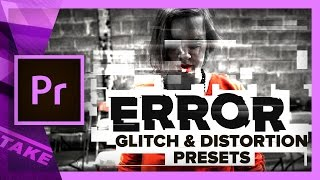 ERROR - Free Glitch & Distortion Presets for Premiere Pro | Cinecom.net