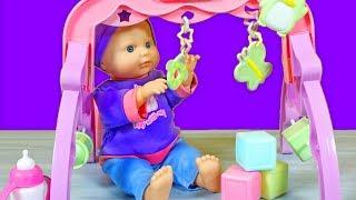 YEPYENİ Oyun Parkı Oyuncak Seti   Bebek Bakma Oyunu   EvcilikTV