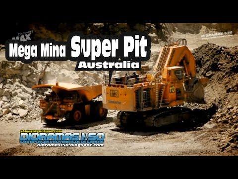 DISCOVERY MAX Mega Mina Super Pit. Australia