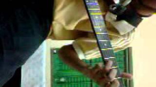 Chand keno guitar music part by Aninda Dutta..