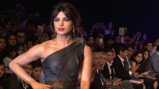 Priyanka Chopra On Ramp At Lakme Fashion Week 2013