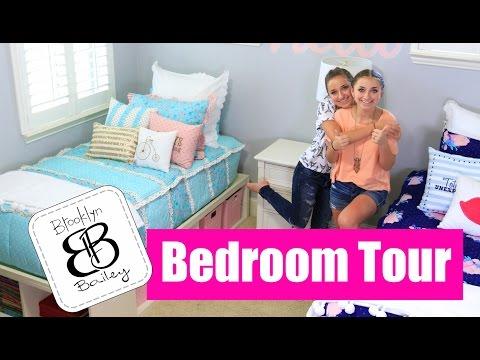 Teen Girl Bedroom Tour | Brooklyn and Bailey