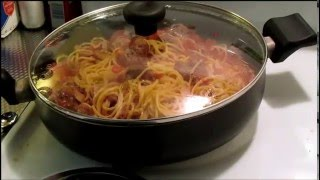 Easy One Pot Spaghetti