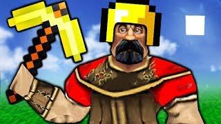 Minecraft выживание в warcraft 3