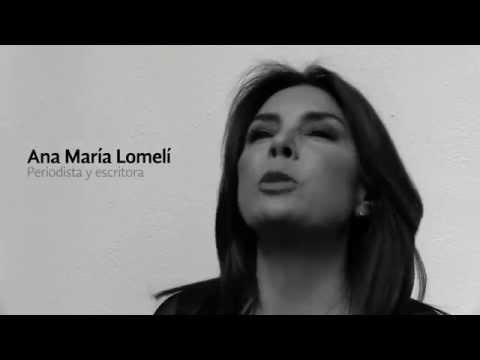 Entrevista con ANA MARÍA LOMELÍ por su novela Con la luna de testigo