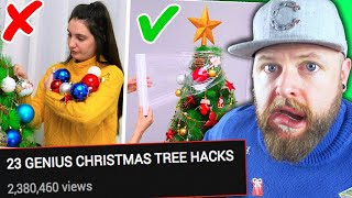 Christmas Life Hacks Need To Be Cancelled
