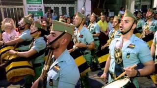 La Legion en la Semana Santa de Algeciras 2015