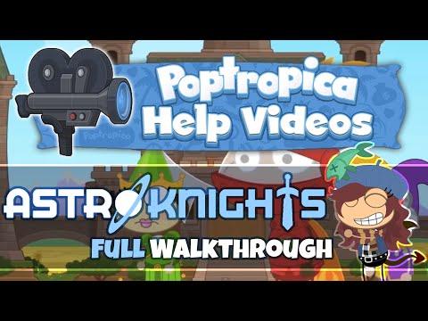 Astro Knights Island FULL Walkthrough Poptropica Help Videos