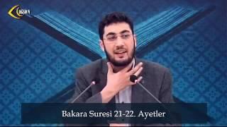 Abdullah İmamoğlu Zinnîre (r.anha) anlatıyor