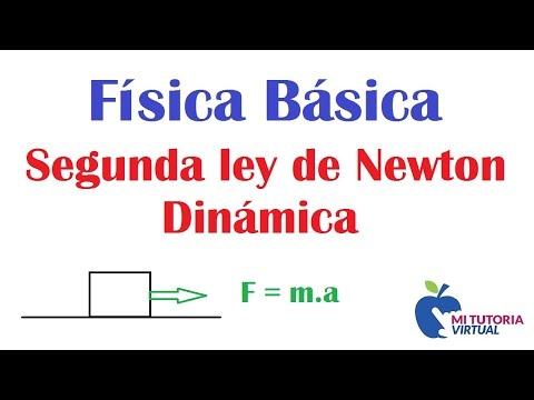 Segunda Ley de Newton Dinamica Problema de Aplicacion