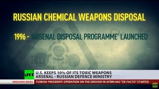 US keeps 10% of its toxic weapons arsenal – Russian MoD