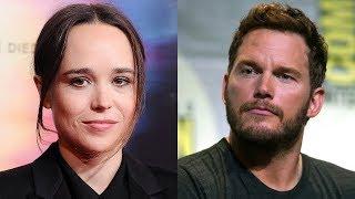 "Ellen Page attacks Chris Pratt over his ""Anti-LGBTQ"" church"