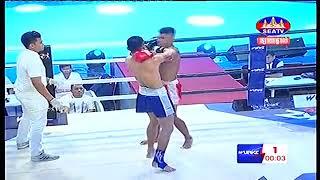 Roeung Saroth, Cambodia Vs Aundeth, Thai, Khmer Boxing 14 october 2018