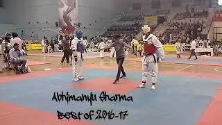 BEST OF 2016, 2017,,,.Above 87 kg. Taekwondo fight