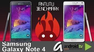 Samsung Galaxy Note 4 SM-N910 C vs. SM-N910 F AnTuTu Benchmark