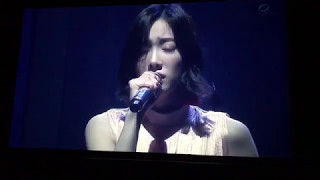 170514 taeyeon time lapse emotional singing persona concert at seoul day 3