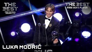 Luka Modric reaction - The Best FIFA Men's Player 2018