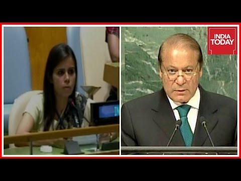 Indian UN Sec, Eenam Gambhir Gives Strong Reply To Pak At UNGA